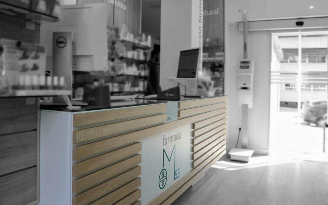 marketing sobre el mobiliario de farmacia